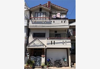 大阪府堺市 T様外壁塗装工事 - BEFORE
