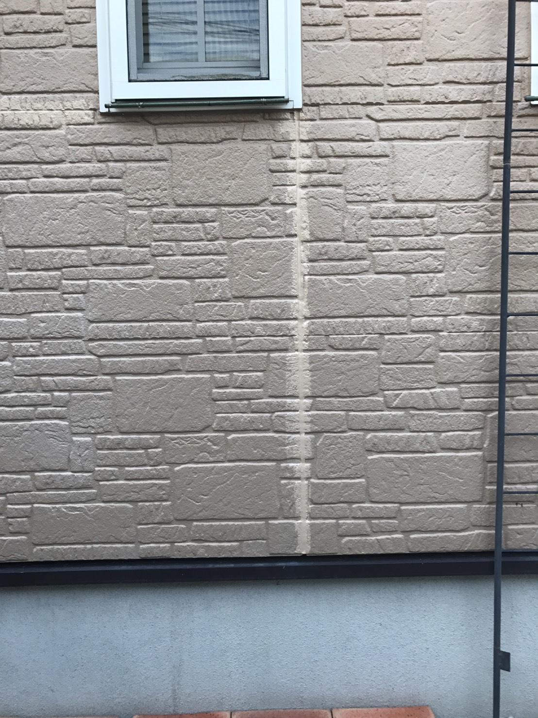 兵庫県T様邸コーキング部分の補修、塗装工事 - BEFORE