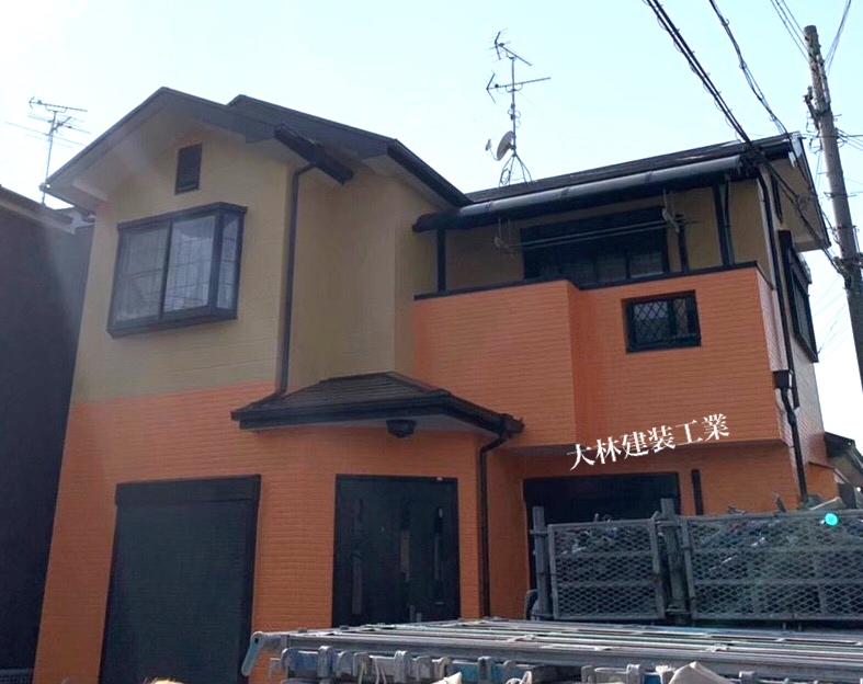 和歌山県有田市A様邸外壁塗装、屋根塗装、防水工事 - AFTER