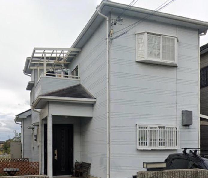 堺市W様邸外壁塗装、屋根塗装、防水工事 - BEFORE