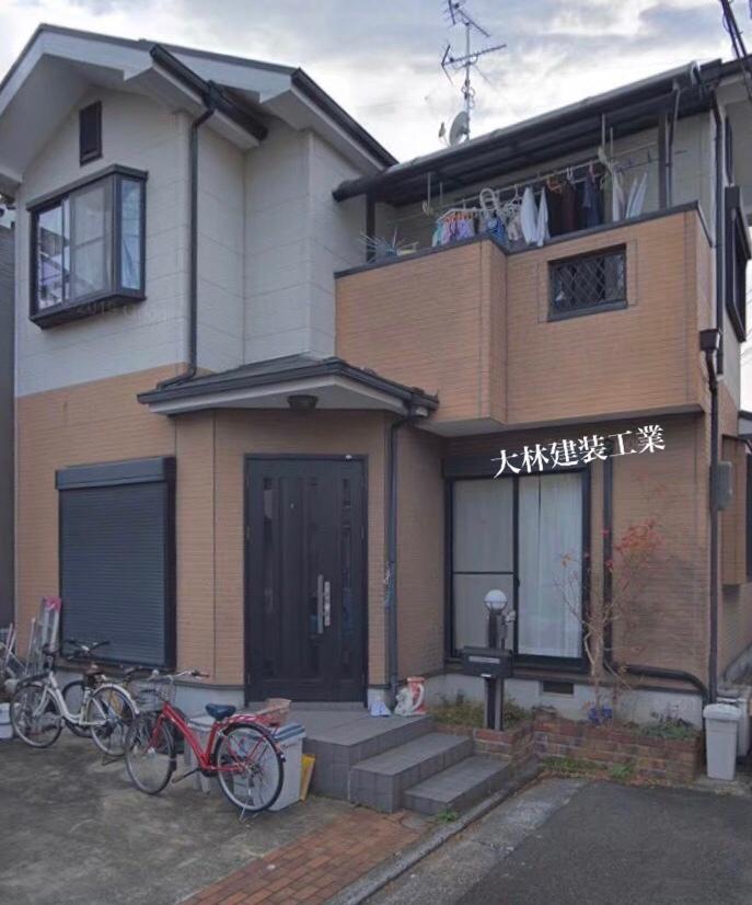 和歌山県有田市A様邸外壁塗装、屋根塗装、防水工事 - BEFORE