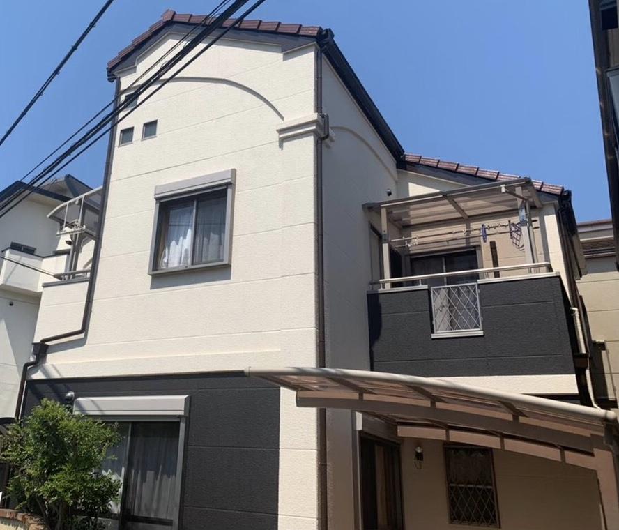 滋賀県草津市G様邸外壁塗装、屋根塗装、防水工事 - AFTER