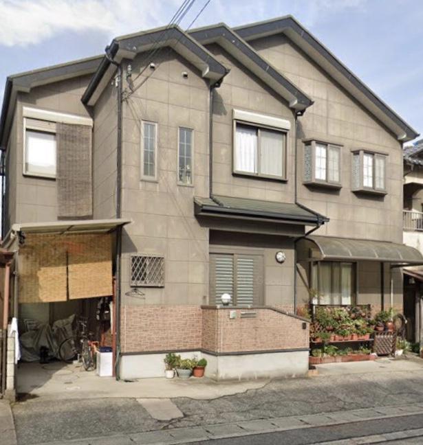 寝屋川市M様邸屋根塗装、壁塗装、コーキング打替え - BEFORE