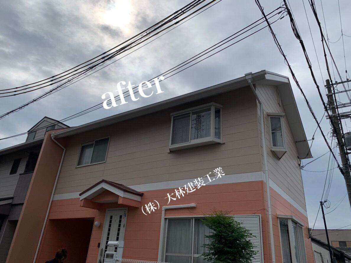 堺市西区U様邸外壁塗装、屋根塗装、防水工事 - AFTER