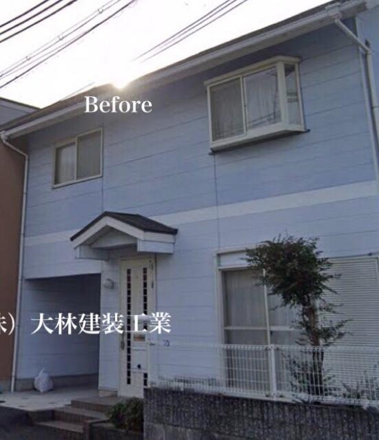 堺市西区U様邸外壁塗装、屋根塗装、防水工事 - BEFORE