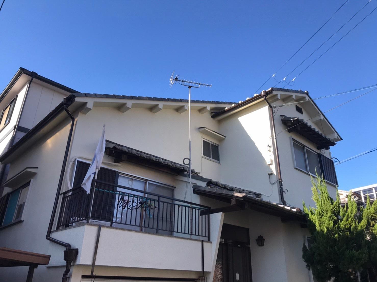 和泉市B様邸外壁補修、塗り替え工事 - AFTER