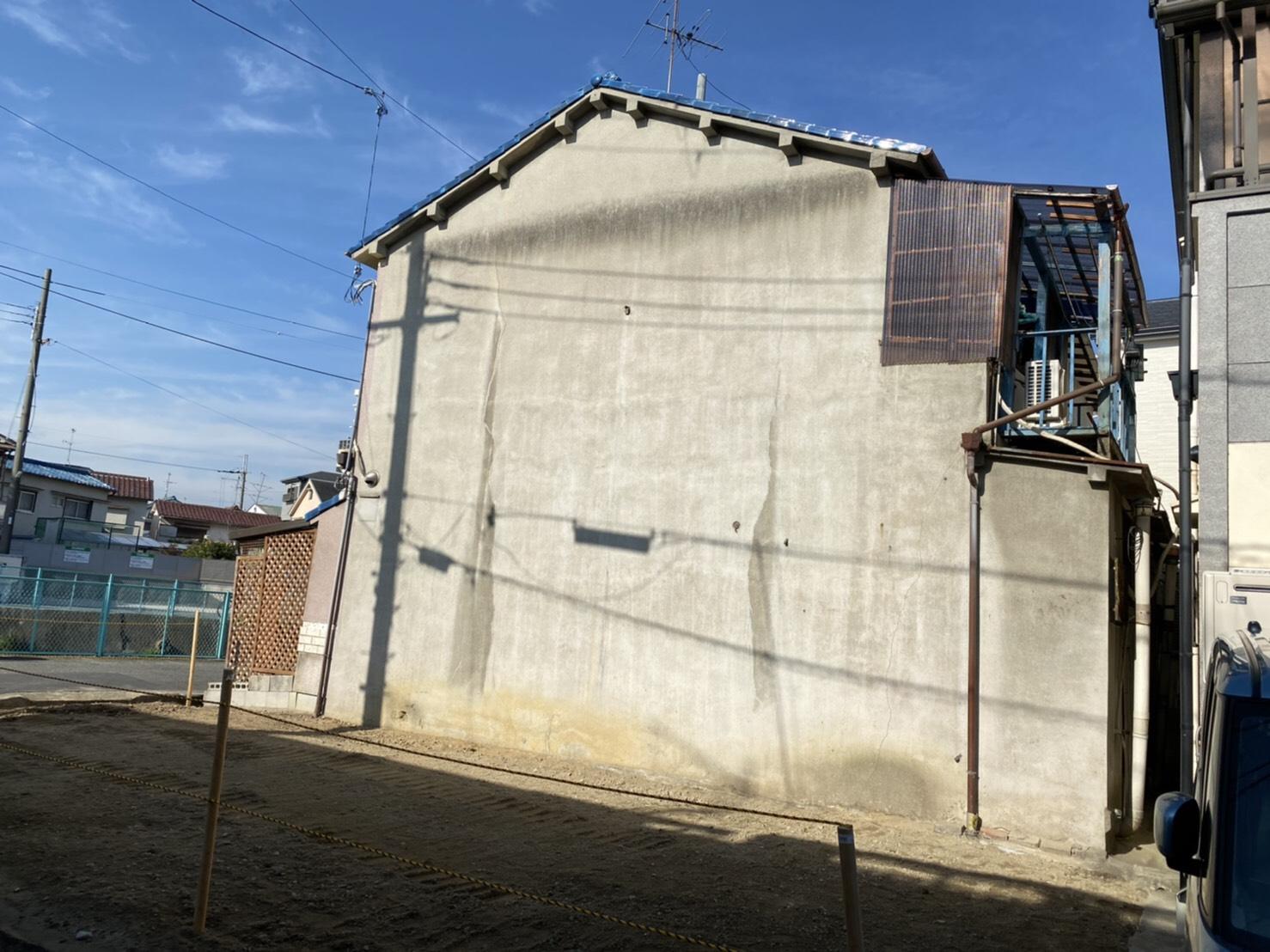 羽曳野市T様邸外壁塗装工事 外壁補修工事 - BEFORE