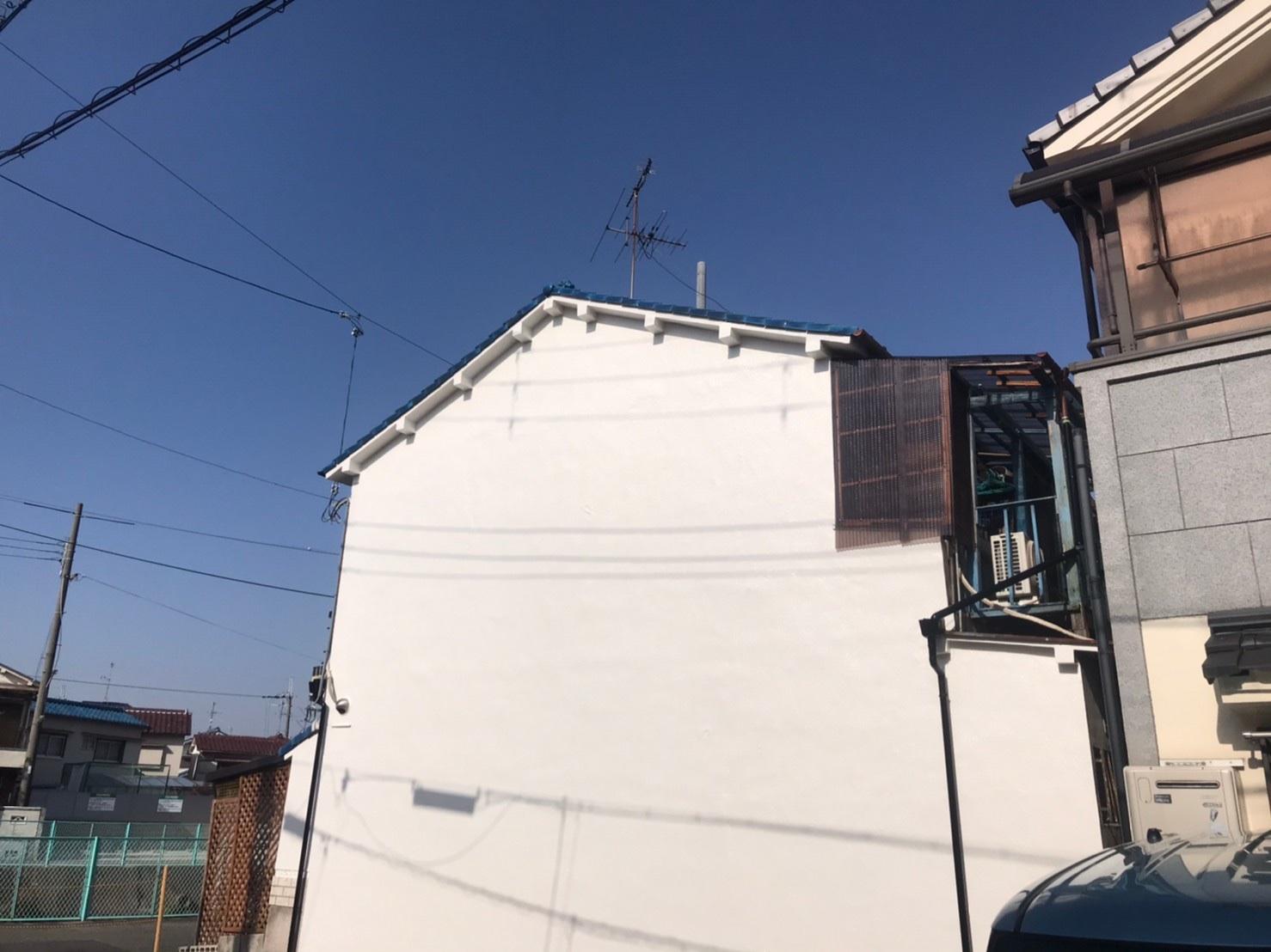 羽曳野市T様邸外壁塗装工事 外壁補修工事 - AFTER