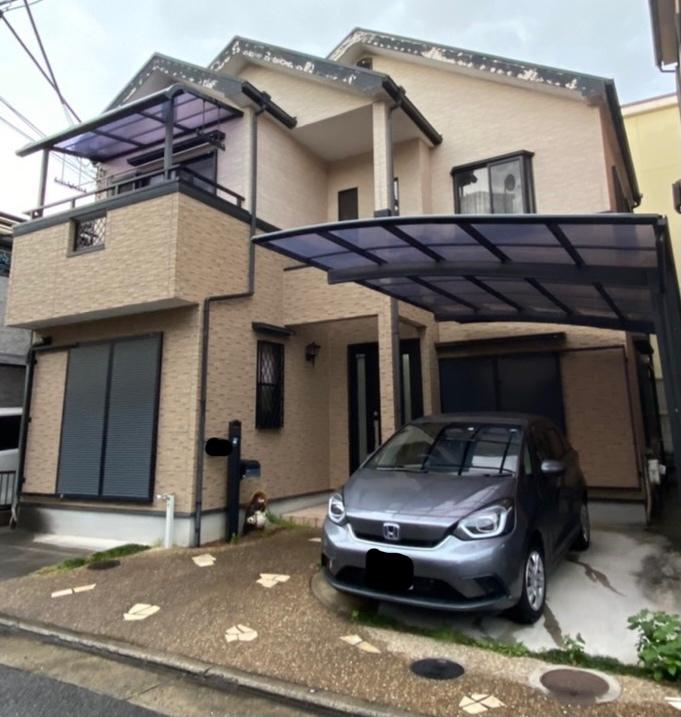 和泉市S様邸外壁塗装工事、屋根塗装工事 - BEFORE